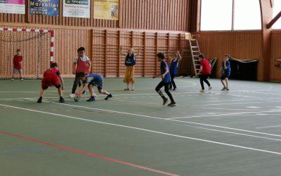 Initiation au handball !