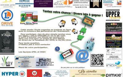 Tombola 2021 École Sainte Marie